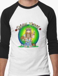 The Original Hippie Men's Baseball ¾ T-Shirt