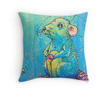 The Universal Rat King Throw Pillow
