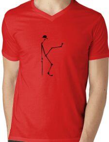 silly sticky walk Mens V-Neck T-Shirt