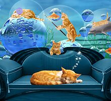 Tabby Dreams by Doreen Erhardt