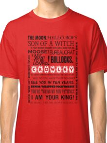 Crowley - Quotes Classic T-Shirt