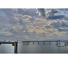Sky Above, Sea Below Photographic Print