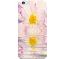 Two Toned White and Purple Dahlia iPhone Case/Skin