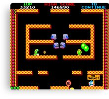 Bubble Bobble Level (vector image - not 8bit) Canvas Print