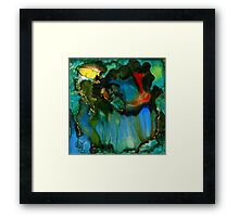 Feeling Violated and BLUE Framed Print