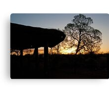 Uluru Shelter Canvas Print