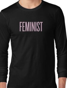 Feminist Long Sleeve T-Shirt