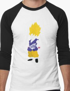 Goku SSJ Men's Baseball ¾ T-Shirt