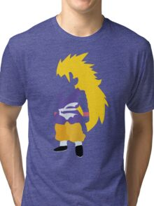 Goku SSJ3 Tri-blend T-Shirt