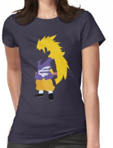 Goku SSJ3 Womens Fitted T-Shirt