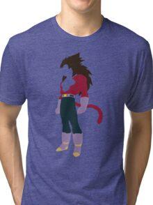 Vegeta SSJ4 Tri-blend T-Shirt
