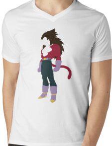 Vegeta SSJ4 Mens V-Neck T-Shirt