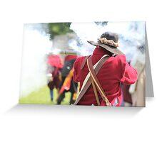 Musketeer Greeting Card