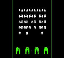 Space Invaders by Warhead955