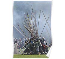 Pike Scrum - Civil War Re-enactment Poster