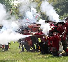 Musket Fire by Samantha Higgs