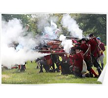 Musket Fire Poster