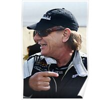 Brian Johnson at Brands Hatch Poster