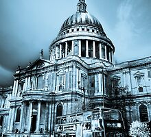 St Paul's Cathedral London Art by DavidHornchurch
