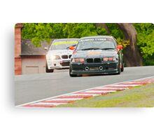 BMW Racers Canvas Print
