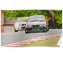 BMW Racers Poster