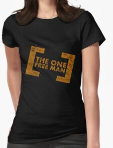 The One Free Man Womens Fitted T-Shirt