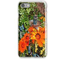 say hello to spring iPhone Case/Skin