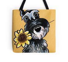 Sunny Schnauzer Tote Bag