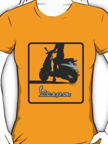 Vespa Girl T-Shirt