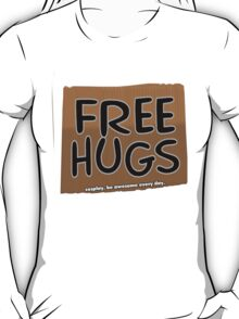 FREE HUGS!!!  -card T-Shirt