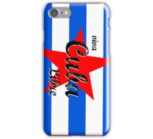 Cuban Flag iPhone Case/Skin