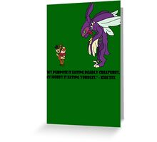 Kha'Zix Joke  Greeting Card
