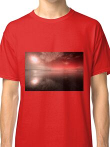 Woolacombe Beach in red  Classic T-Shirt