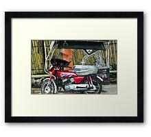 Transportation.... Framed Print