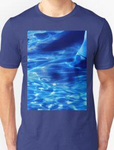Blue Abstract Tee #1 T-Shirt