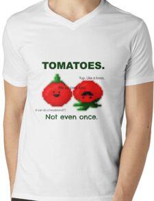 TOMATOES. Mens V-Neck T-Shirt