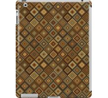 Aztec Inspired Gold and Black iPad Case iPad Case/Skin