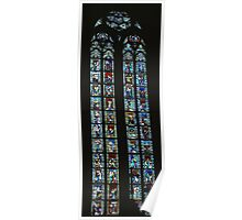 Window 1300 Duomo Orvieto 19840316 0019  Poster