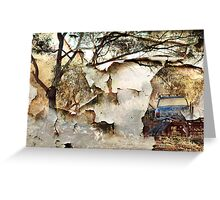 Rust and forgotten.... Greeting Card