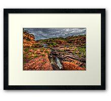Manning Gorge - Kimberley WA Framed Print