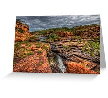Manning Gorge - Kimberley WA Greeting Card