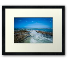 Coming in with a Rush Framed Print