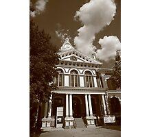 Pontiac, Illinois - Courthouse Photographic Print
