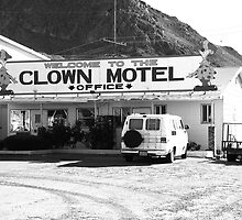 Tonopah, Nevada - Clown Motel by Frank Romeo