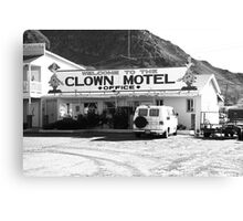 Tonopah, Nevada - Clown Motel Canvas Print