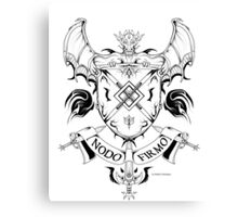 Coat of arms 1 Canvas Print