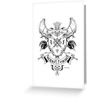 Coat of arms 1 Greeting Card