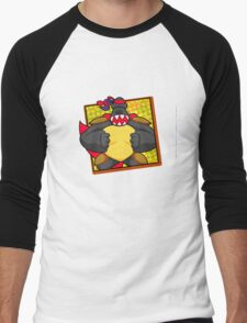 Hong Kong Custom Men's Baseball ¾ T-Shirt