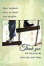Good Teachers (Greeting Card) by Tracy Friesen
