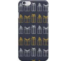 seamless pattern different gift box. iPhone Case/Skin